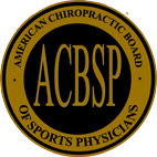 American Chiropractic Board of Sports Physicians logo